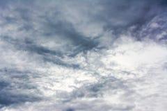 Black cloud Royalty Free Stock Image