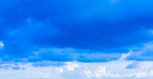 Black cloud Royalty Free Stock Photos
