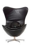Black club  chair Stock Image