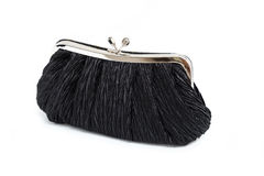 Black clutch  Bag Royalty Free Stock Image