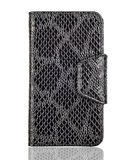 Black clutch, case, purse Royalty Free Stock Photography