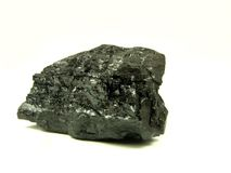 Black coal Royalty Free Stock Photography