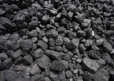 Black Coal Royalty Free Stock Images