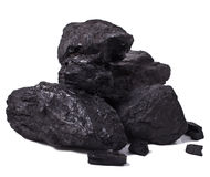 Black coal Royalty Free Stock Image