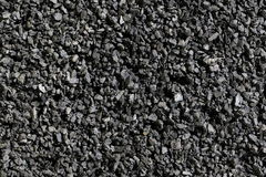 Black coal background Royalty Free Stock Photography