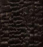 Black coal. Burnt wooden beam Stock Image