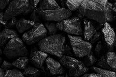 Black coal closeup dark background royalty free illustration