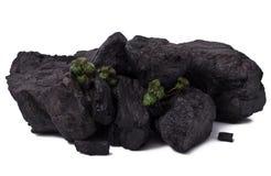 Black coal Royalty Free Stock Photo