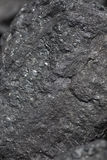 Black coal  surface Stock Photos