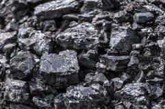 Black coal texture Royalty Free Stock Photo