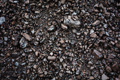 Black coal textured background Stock Images