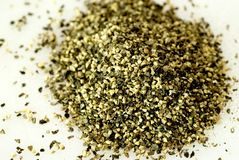 Black coarse pepper Royalty Free Stock Images