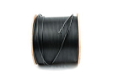 Black coaxial cable Stock Photography