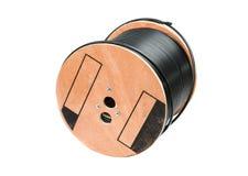 Black coaxial cable Royalty Free Stock Photos