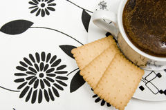 Black coffe Stock Images