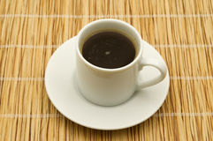 Black coffe Royalty Free Stock Images