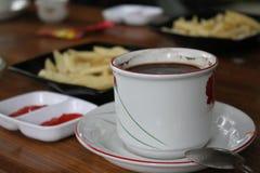 Black coffe stock image