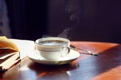 Black coffee. Royalty Free Stock Photos