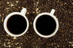 Black Coffee Royalty Free Stock Images