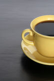 Black Coffee Royalty Free Stock Photography