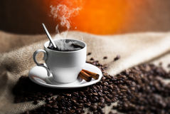 Black coffee Stock Photography