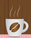 Black Coffee Background. Photo-Realistic Vector Royalty Free Stock Photos