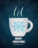 Black Coffee Background. Photo-Realistic Vector Stock Photography