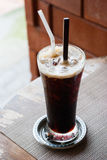 Black coffee, cold Royalty Free Stock Image