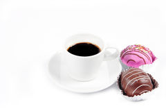 Black coffee cup Royalty Free Stock Image