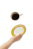 Black coffee Royalty Free Stock Photos