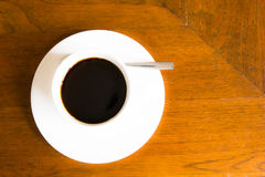 Black coffee cup Stock Photos