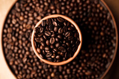 Black coffee flavour Royalty Free Stock Photos