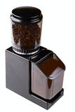 Black coffee grinder Royalty Free Stock Images