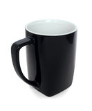 Black coffee mug Royalty Free Stock Image