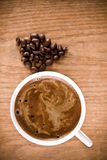 Black coffee Stock Images