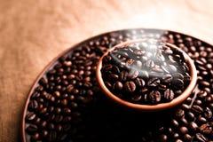 Black coffee taste Royalty Free Stock Photo