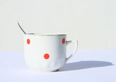Black coffee or tea Royalty Free Stock Photography