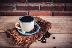 Black coffee Stock Photos