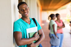 Black college student books Stock Images