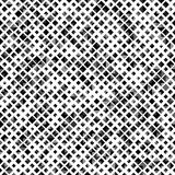 Black color seamless pattern with rhombuses, abstract design geometrical vector background. Simple modern stylish Stock Photography