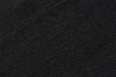 Black color t-shirt texture Royalty Free Stock Photo