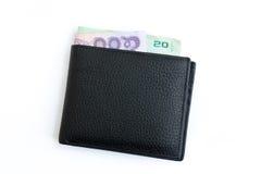 Black color wallet Royalty Free Stock Photos