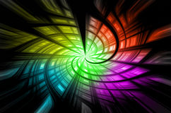 Black and colorful backgrounds Royalty Free Stock Photos