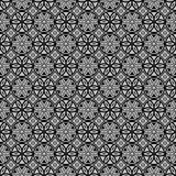 Black Colors Round grid Pattern. Korean traditional Pattern Desi Stock Photography