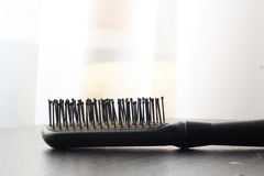 Black comb Royalty Free Stock Images