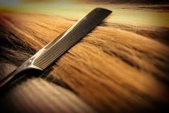 Black comb Royalty Free Stock Photos