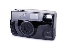 Black compact film camera Stock Image