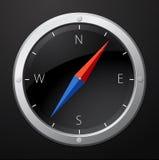 Black compass Stock Photos