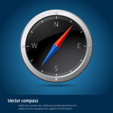 Black compass Stock Photography