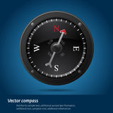 Black compass Royalty Free Stock Images